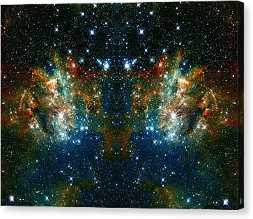 Cosmic Phoenix  Canvas Print by Jennifer Rondinelli Reilly - Fine Art Photography