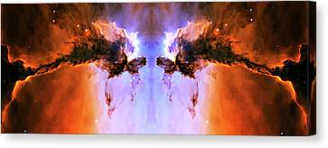 Cosmic Release Canvas Print by The  Vault - Jennifer Rondinelli Reilly