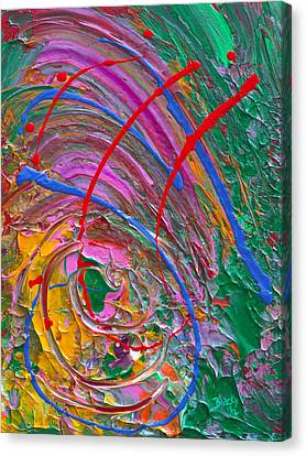 Cosmic Thoughts Canvas Print by Donna Blackhall