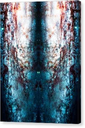 Cosmic Winter Canvas Print by The  Vault - Jennifer Rondinelli Reilly