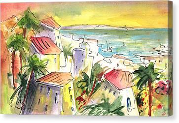 Costa Adeje 04 Canvas Print by Miki De Goodaboom
