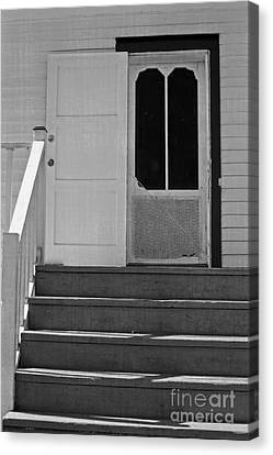 Cottage 5 Stair Steps Home Canvas Print by Ella Kaye Dickey