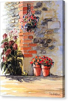 Cottage Garden  Canvas Print by Bill Holkham