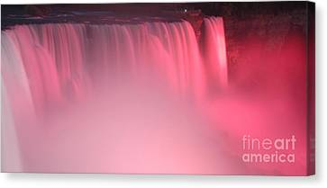 Cotton Candy Canvas Print by Kathleen Struckle