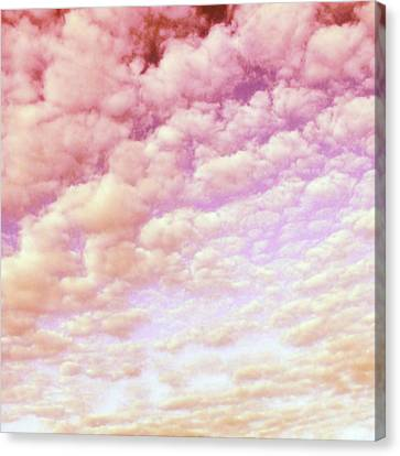 Cotton Candy Sky Canvas Print by Marianna Mills
