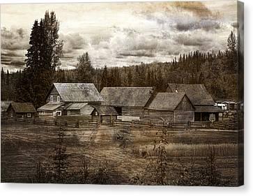 Cottonwood House Canvas Print by Inge Riis McDonald