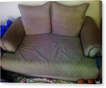 Couch Canvas Print by Unique Consignment