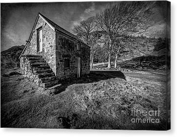 Country Cottage V2 Canvas Print by Adrian Evans