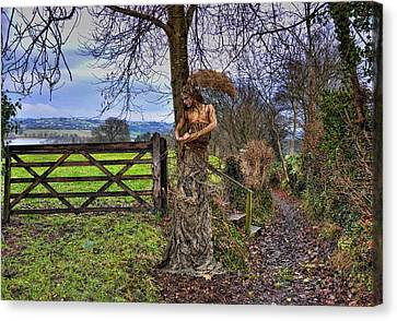 Country Girl Canvas Print by Alex Hardie