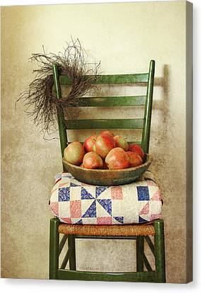 Country Harvest Canvas Print by Vicki McLead