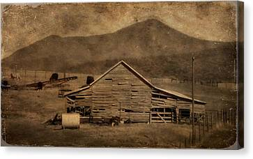 Country Living In Shenandoah Valley Canvas Print by Dan Sproul