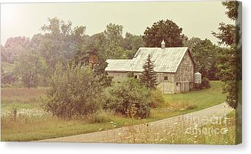 Country Road - Take Me Home Canvas Print by Brian Mollenkopf