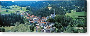 Countryside Switzerland Canvas Print by Panoramic Images