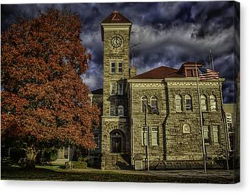 Court House Canvas Print by Colby Drake