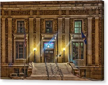 Courthouse Steps Canvas Print by Paul Freidlund