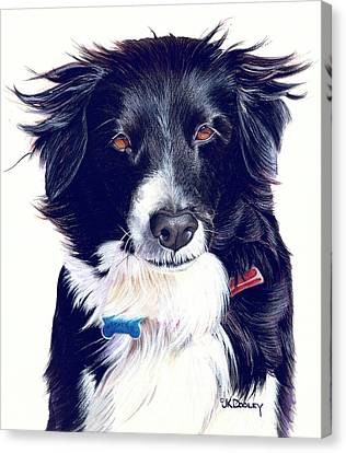 Cover Girl Canvas Print by JK Dooley