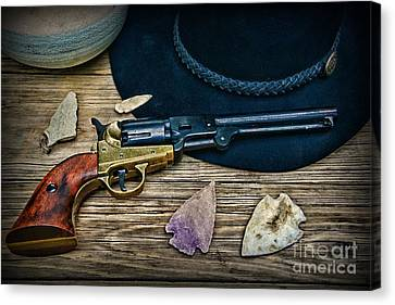 Cowboys And Indians  Canvas Print by Paul Ward