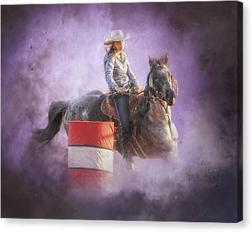 Cowgirls Dream Canvas Print by Ron  McGinnis