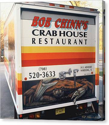Crabhouse Truck Canvas Print by Bill Jonas