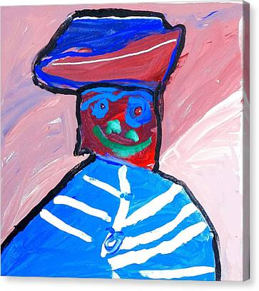 Cracker Jack Kid Canvas Print by Artists With Autism Inc