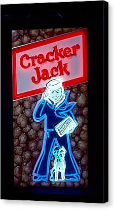 Cracker Jack Canvas Print by Pacifico Palumbo