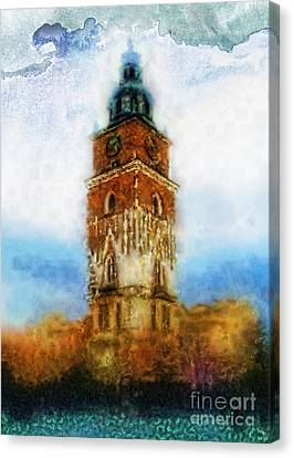 Cracov City Hall Canvas Print by Mo T