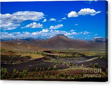 Craters Of The Moon Canvas Print by Robert Bales