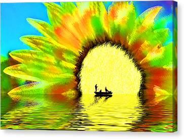 Creative Boating Canvas Print by Glenn McGloughlin