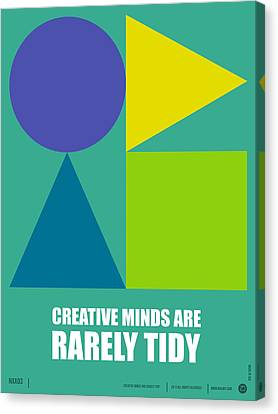 Creative Minds Poster Canvas Print by Naxart Studio