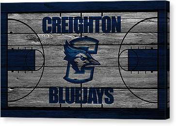 Creighton Bluejays Canvas Print by Joe Hamilton