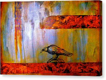 Cria Cuervos Canvas Print by Thelma Zambrano