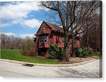Cricket Building At Haverford College Canvas Print by Kay Pickens
