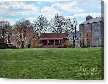 Cricket Field Haverford College Canvas Print by Kay Pickens