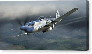 Cripes A'mighty 3rd Canvas Print by Robert Perry