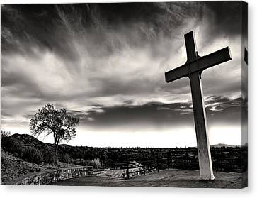 Cross Of The Martyrs Canvas Print by Diana Angstadt