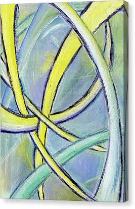 Crossed Paths Canvas Print by Karyn Robinson