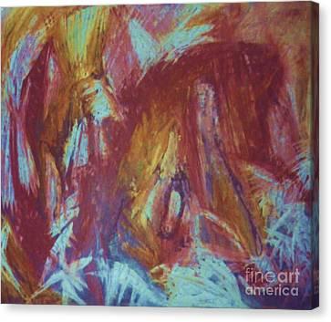 Crowman Canvas Print by Ann Fellows