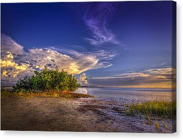 Crown Of Clouds Canvas Print by Marvin Spates