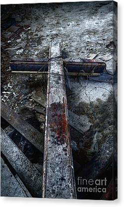 Crucifixion Canvas Print by Margie Hurwich