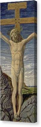 Crucifixion  Canvas Print by Master of the Barberini Panels