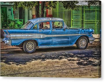 Cruisin Havana Canvas Print by Erik Brede