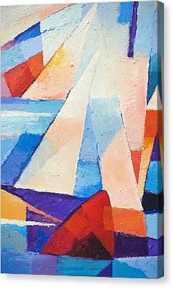 Cruising Canvas Print by Lutz Baar