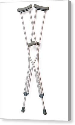 Crutches Canvas Print by Daniel Sambraus