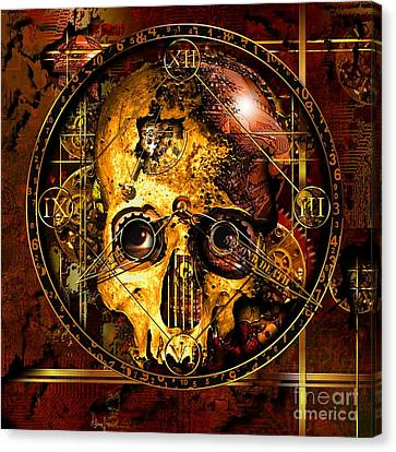 Cryptic Time Course  Canvas Print by Franziskus Pfleghart