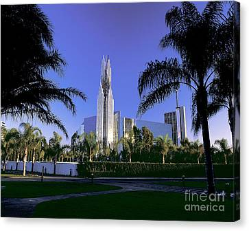 Crystal Cathedral Canvas Print by Jim Corwin