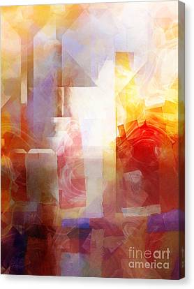 Crystal City Canvas Print by Lutz Baar