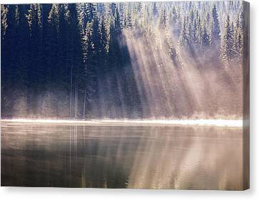 Crystal Rays Canvas Print by Evgeni Dinev