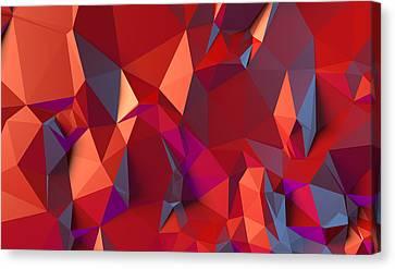 Crystal Volcanic Canvas Print by Vitaliy Gladkiy