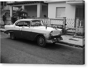 Cuban Car Canvas Print by Norman Pogson