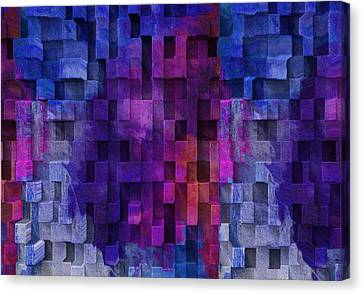 Cubed 2 Canvas Print by Jack Zulli